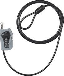 COMBILOOP 205/200 Kabelschloss schwarz