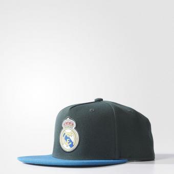 REAL FLAT CAP CBLACK/CBLACK/TRAPNK