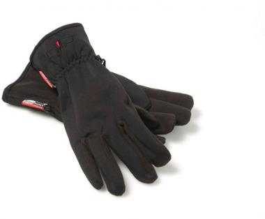 MAN SOFTSHELL GLOVES NERO