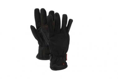 WOMAN SOFTSHELL GLOVES NERO