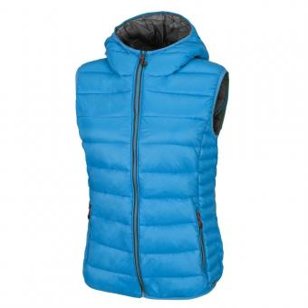 WOMAN VEST FIX HOOD HAWAY