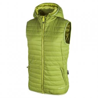 WOMAN VEST ZIP HOOD CEDRO