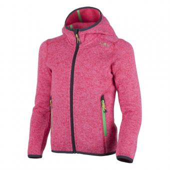 GIRL FIX HOOD JACKET IBISCO-ROSE
