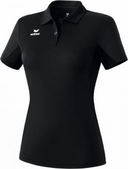 functional polo shirt black
