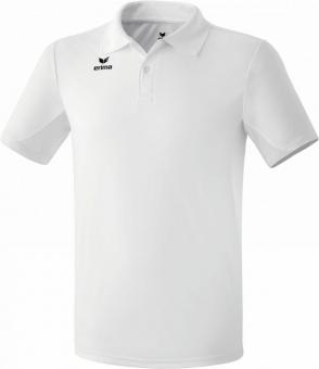 functional polo shirt new white