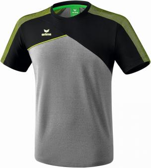 PREMIUM ONE 2.0 t-shirt function grey-melange/black/lime pop