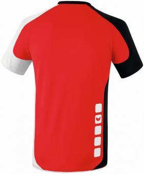 VALENCIA indoor jersey short sleev red/black/white