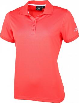 SEATTLE L Da. Poloshirt hot coral