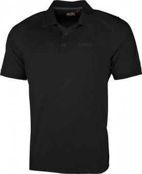 SEATTLE M He. Poloshirt schwarz