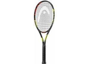 MX CYBER PRO Tennisschläger schwarz-neongelb-rot