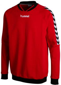 STAY AUTHENTIC COTTON SWEAT TRUE RED