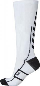 TECH INDOOR SOCK HIGH WHITE/BLACK