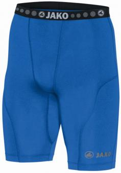 Short Tight Compression bleu