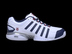 RECEIVER III White/Navy/Fiery Red