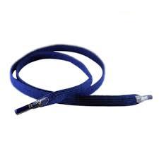 flat laces 4 bis 7 Ösen blau