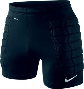PADDED GOALIE SHORT BLACK/BLACK/WHITE