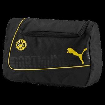 BVB evoPOWER Wash Bag PUMA WHITE-PUMA BLACK-FIERY CO