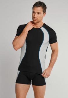 Shirt 1/2 Arm schwarz