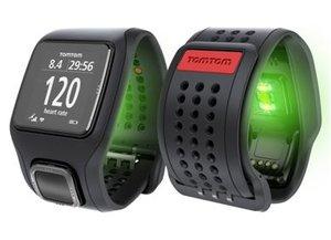 TomTom RUNNER Cardio GPS Uhr schwa schwarz