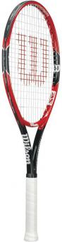 ROGER FEDERER 25 Ki-Tennisschläger schwarz-rot