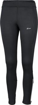 ELSY 2-L  Da. Winter Runningtight schwarz