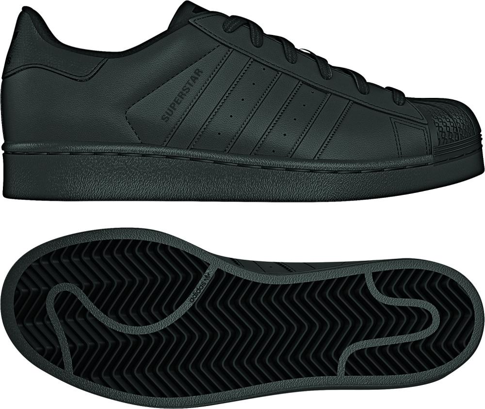 adidas Superstar Foundation J B25724 Cblack Schuhe Online